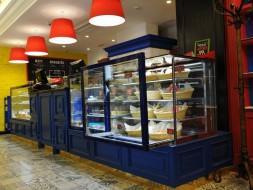 Витрина Вена 1,25 ПСВ кондитерская холодильная