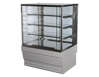 Витрина Прага 0,75 Куб кондитерская холодильная