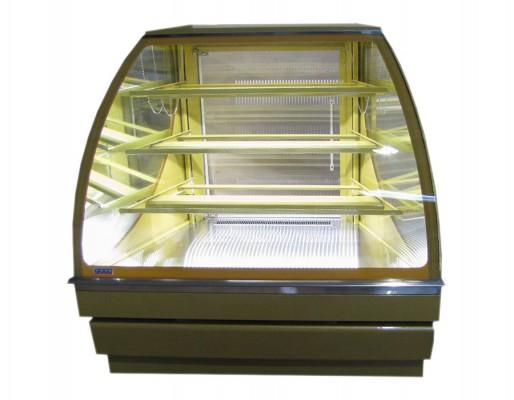 Витрина Вена 45 кондитерская холодильная угловая наружная